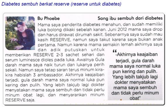 testimoni_reserve_diabetes_Ibu_Phoebe